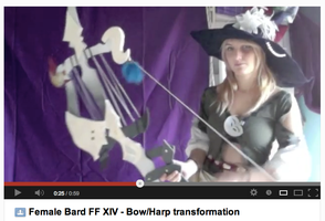 Preview - Bard FF XIV - Bow/Harp transformation by NelielTheArrancar