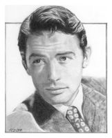 Gregory Peck by furafura