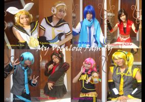 My Vocaloid Family by meichine