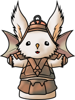Deviant ID: The Artful Moogle by Seig-Verdelet