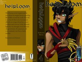 Heirloom Cover - Book 4 by Kuthinks