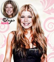 Retouch Fergie by GreenSlOw