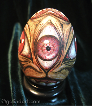 'Seraph' Egg View 1 by Galindorf