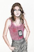 Jennifer Carpenter by Suanin