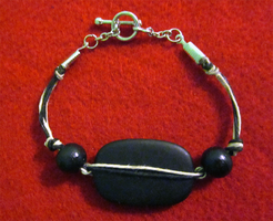 Casual Blackstone Bracelet by BloodRed-Orchid