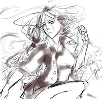 Woo Ping sketch! by ConspicioPotenStilus