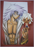 Chibi-Charms: ThiefKing Bakura by MandyPandaa