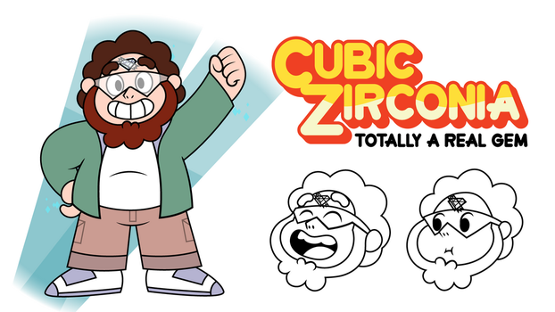 Cubic Zirconia by T-3000
