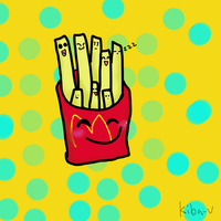 kawaii frenchfries::. by Kiba-vocaloid