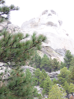 George Washington at Mount Rushmore 08-23-2013 by Crigger