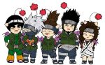 Colored Naruto Jounin Moogles by wordongear