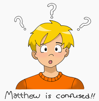 Confused Matthew by Glee-chan