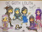 Oc Goth Lolita Project [COMPLETED] by amadarian