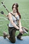 Lara Croft cosplay - WeGame 7 by TanyaCroft