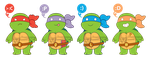 Turts and Emotes by FrankenPup