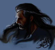 Thorin -Shadows Detail by HecateInNightmare