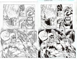 BN Batman issue 1 Inks by ardian-syaf
