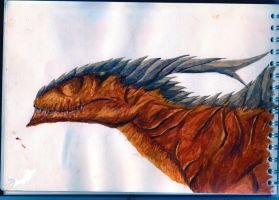 Plated Dragon by EnigmaticElocution