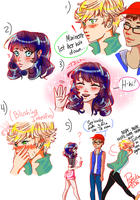 'Love fool': Miraculous Ladybug Fancomic by PatchedUpArtist
