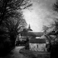 Old village by burzinski