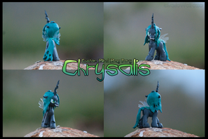 Chrysalis - Custom Blind Bag Pony by ShadoWolfozo