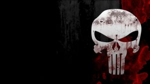 Punisher Skull Wall by n1tr0g3n-0x1d3