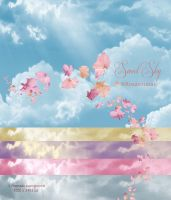 Pack Backgrounds Sky by ROSASINMAS