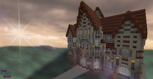 Minecraft Church by skysworld