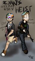 R and R Connection: Ryan's Heist by MrNinja3322