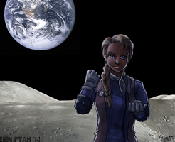 I'm...from the Moon. by ErinPtah
