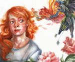 Kendra and fairies, FABLEHAVEN by LumiLumi