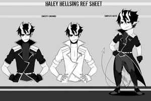 ---Haley Hellsing--- by SourBein