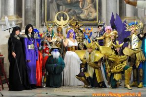 Saint Seiya Group 2 by DeathWrathAngel