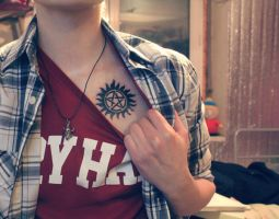 spn tatoo by Gregory-Welter