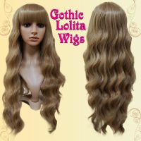 Classic Light Brown Lolita Wig by GothicLolitaWigs