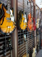 Guitar Row by SouthernImagineer