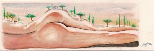 Landscape nude 1 by LucaStrati