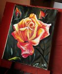 Rose | Oil Painting by artmaker77