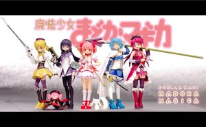 Puella Magi Assemble! by phtoygraphy