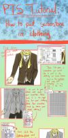 Paint Tool SAI Tutorial: Screentones in Clothing by WitchOfStories