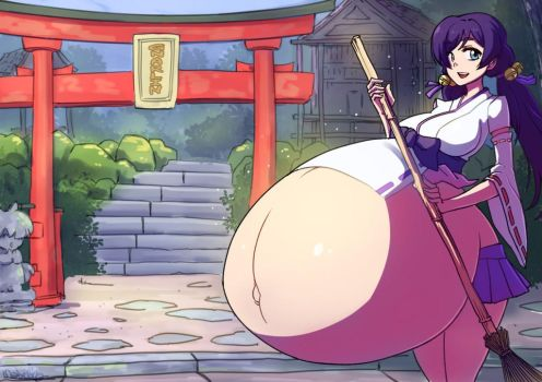 Pregnant Nozomi Toujou from the Love Live! by MaBeelZ