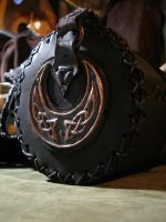 Thor's Hammer leather bag A by morgenland