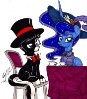 Junior and Luna Being Fabulous by newyorkx3