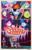 welcome to gravity falls by papier-crane