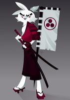 Usagi Yojimbo Crimson (Final) by placitte2012