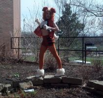 Wild Growlithe Has Appeared (Tora Con 2015) by JackitK