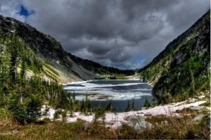 Kokanee Lake III by salohcin19