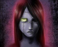 broken face by hyuthefish