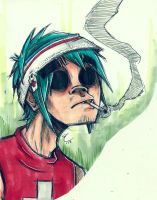 2D Copic sketch by SamColwell