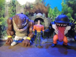 JLU ATLANTIS STREET SHARKS by monitor-earthprime
